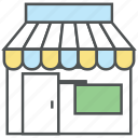 commerce, commercial, marketplace, shop, shop building, shopping, store icon