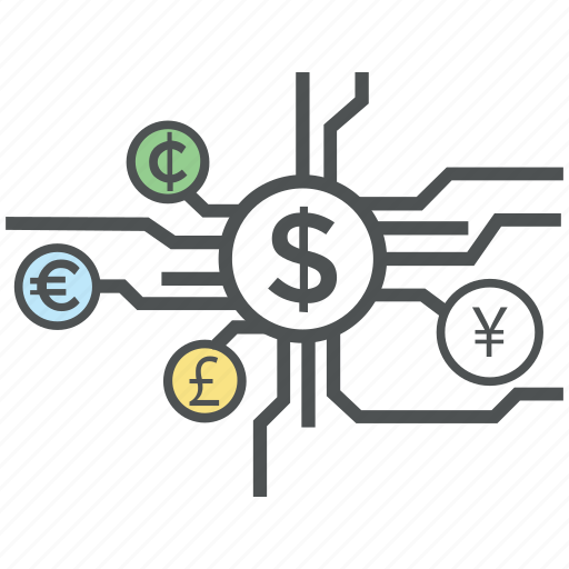 business, commercial, currency exchange, digital currency, investment, money exchange icon