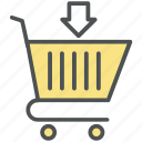 add to basket, add to cart, cart, e commerce, shopping cart, shopping trolley, trolley icon