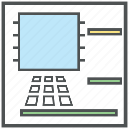 atm, automated teller machine, cash line, cash machine, payment machine, payment method icon