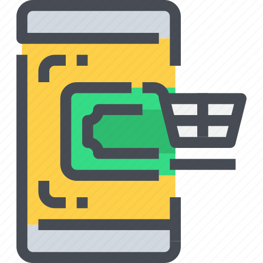 banking, business, ecommerce, online, order, payment, shopping icon