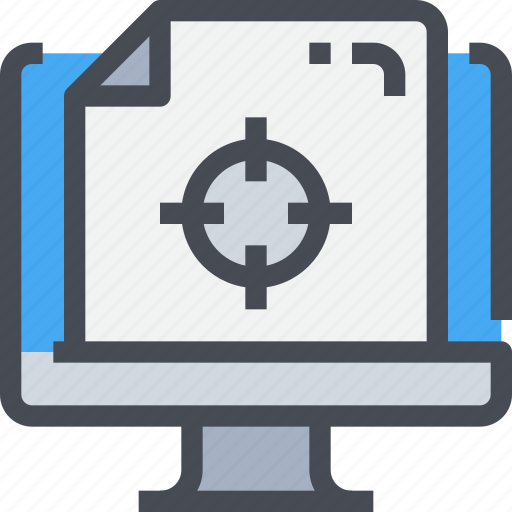 business, computer, marketing, online, seo, target, targeting icon