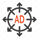 ad, advertising, submission icon