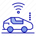atou, car, signal, wifi icon