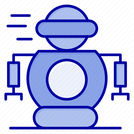 human, robot, robotic, technology icon