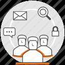 behaviour, concept, digital, group, marketing, strategy, user