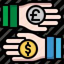 currency, exchange, digital, business, finance, money