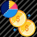 cash, economy, finance, funding, investment, management, profit icon