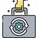automation, business, business automation icon