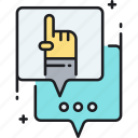 consult, consulting, discussion icon