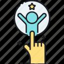 activation, customer, customer activation icon