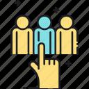 customer, customer types, types icon