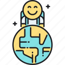 backpacker, backpacking, solo, solo travel, travel, traveler icon