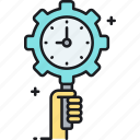 clock, management, time, time management, timer icon