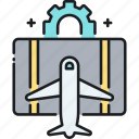hacking, travel, travel hack, travel hacking icon