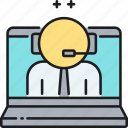 assistant, virtual, virtual assistant icon