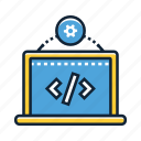 app, coding, design, development, html, programmer, ui icon
