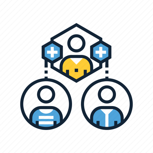 business, collaborate, collaboration, cooperation, partnership, referrals, teamwork icon
