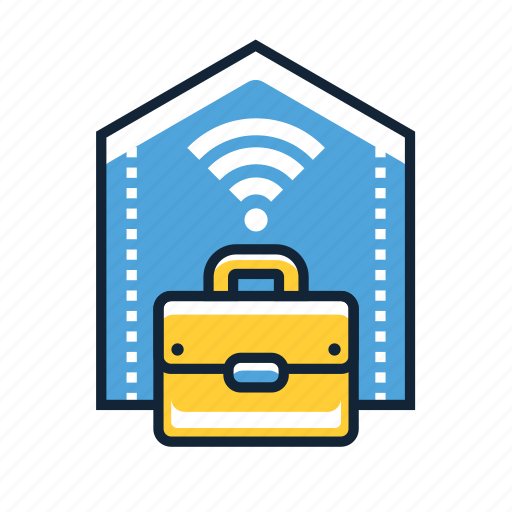building, business, job, office, remote, travel, work icon