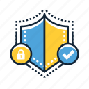 lock, privacy, protect, protection, safety, secure, security icon