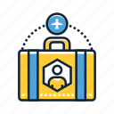 holiday, solo, tourism, transportation, travel, trip, vacation icon