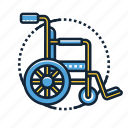 emergency, handicapped, healthcare, hospital, medical, pharmacy, wheelchair icon