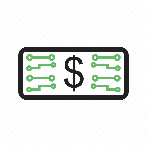 Business, currency, digital, electronic, money, stock icon - Download on Iconfinder