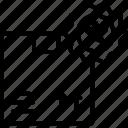 branding, guarantee, logo, product, trademark icon