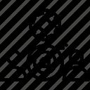 aim, goals, target, team, trigger icon