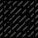 change, edit, guideline, model, pattern icon