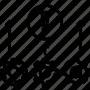alert, change, danger, hazard, process icon