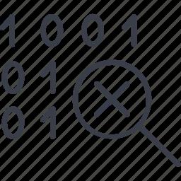 antivirus, computer, digital, hacker, lock. code, protection, virus icon