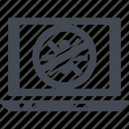 antivirus, digital protection, protection, virus protection icon