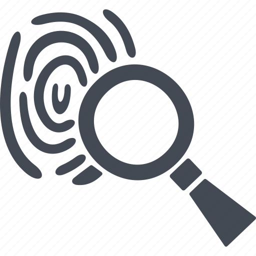 biometric, digital protection, fingerprint, identification icon