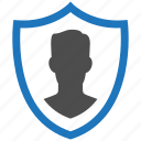 admin, encryption, firewall, guard, security, shield icon