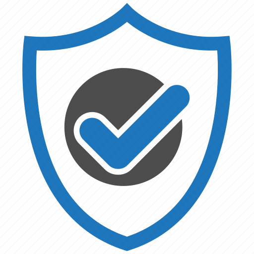 check, encryption, firewall, guard, security, shield icon