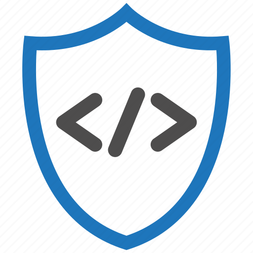 code, encryption, firewall, guard, security, shield icon