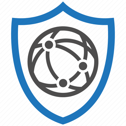 connect, encryption, firewall, security, shield icon