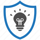 encryption, firewall, guard, idea, security, shield icon