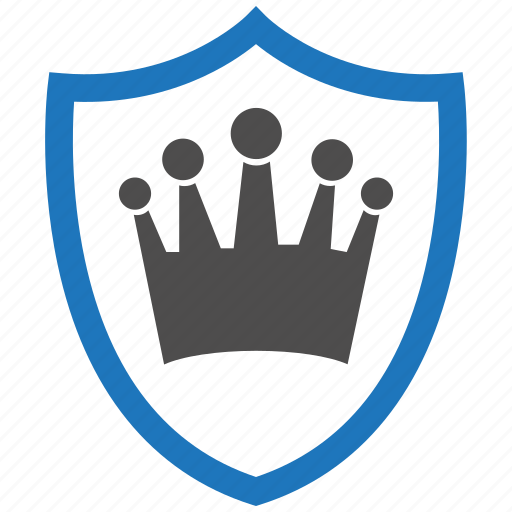 encryption, firewall, guard, king, security, shield icon
