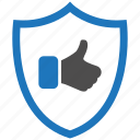 encryption, firewall, guard, like, security, shield icon