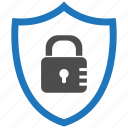 encryption, firewall, guard, lock, security, shield icon