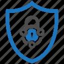 encryption, firewall, guard, lock, security, shield, tech icon