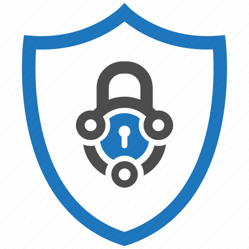 encryption, firewall, guard, lock, security, shield, tech icon