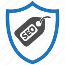 encryption, firewall, guard, security, seo, shield icon