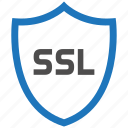 encryption, firewall, guard, security, shield, ssl icon