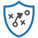 encryption, firewall, guard, security, shield, strategy icon