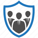encryption, firewall, guard, security, shield, team icon