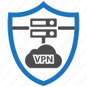 encryption, firewall, guard, security, shield, vpn icon