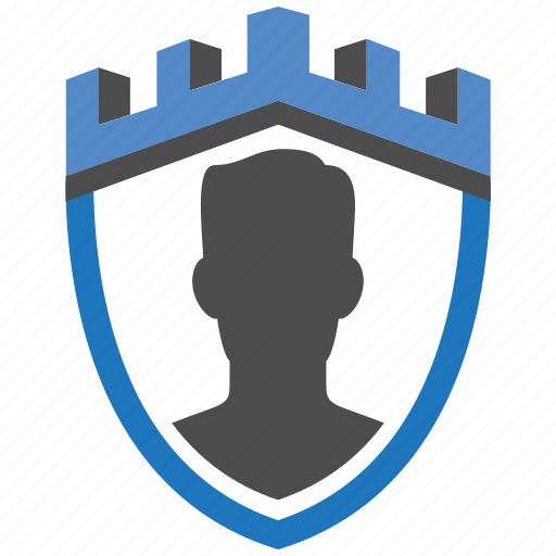 admin, castle, encryption, firewall, guard, security, shield icon
